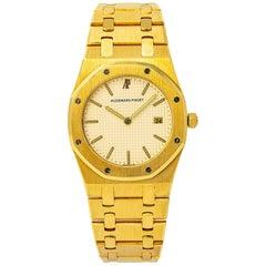 Audemars Piguet Royal Oak 56175 Quartz 18 Karat Yellow Gold Unpolished Unisex