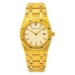 Audemars Piguet Royal Oak 56175 Quartz 18K Yellow Gold Unpolished Unisex