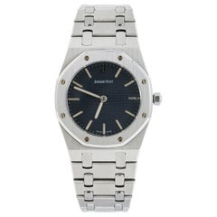 Audemars Piguet Royal Oak 56303ST Blue Dial SS Men's Watch