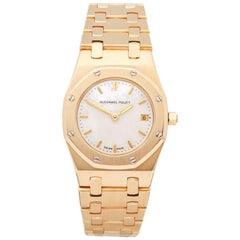 Audemars Piguet Royal Oak 66270BA Ladies Yellow Gold Diamond Watch