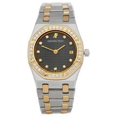 Audemars Piguet Royal Oak  67075SA Ladies Stainless Steel & Yellow Gold Diamond