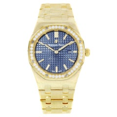 Audemars Piguet Royal Oak 67651bA.ZZ.1261BA.02 18 Karat Gold Quartz Ladies Watch