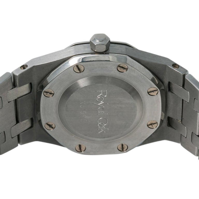 Audemars Piguet Royal Oak 8638ST Women's Automatic Watch Stainless Steel In Excellent Condition For Sale In Miami, FL