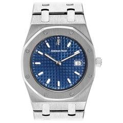 Audemars Piguet Royal Oak Blue Dial Steel Men's Watch 57175ST