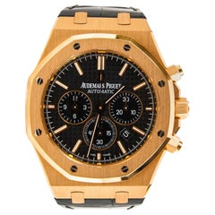 Audemars Piguet Royal Oak Chronograph Black Dial Rose Gold 26331OR.OO.D315CR.01