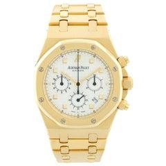 Audemars Piguet Royal Oak Chronograph Men's 18 Karat Gold Watch 25960BA/O/1185