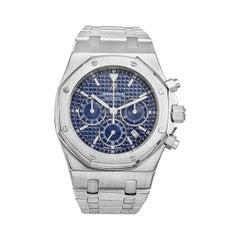 Audemars Piguet Royal Oak Chronograph Wristwatch in Stainless Steel