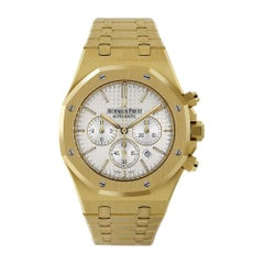Audemars Piguet Royal Oak Chronograph Yellow Gold Watch