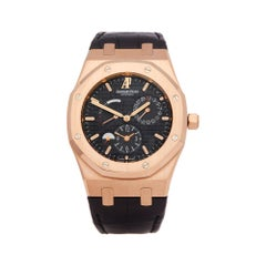 Audemars Piguet Royal Oak Dual Time 18K Rose Gold 26120OR00D002CR01 Wristwatch