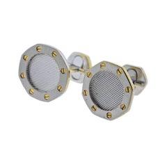 Audemars Piguet Royal Oak Gold Cufflinks