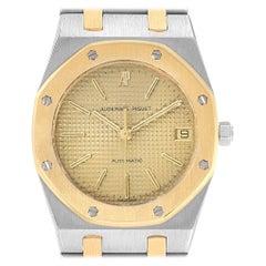 Audemars Piguet Royal Oak Grey Dial Steel Yellow Gold Men's Watch