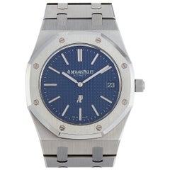 """Audemars Piguet Royal Oak """"Jumbo"""" Extra-Thin Watch 15202ST.OO.1240ST.01"""