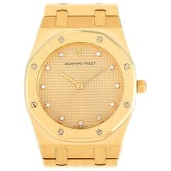 Audemars Piguet Royal Oak Ladies 18K Yellow Gold Watch