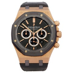 Audemars Piguet Royal Oak Leo Messi Chronograph Rose Gold and Titanium 263250l00