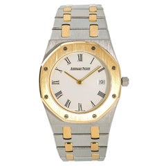 Audemars Piguet Royal Oak Men's Vintage Quartz Watch 18 Karat Two-Tone