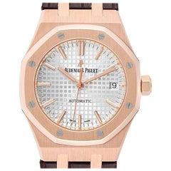 Audemars Piguet Royal Oak Midsize Rose Gold Men's Watch 15450OR