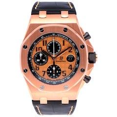 Audemars Piguet Royal Oak Offshore 18 Karat Rose Gold 26470OR.OO.A002CR.01 Watch