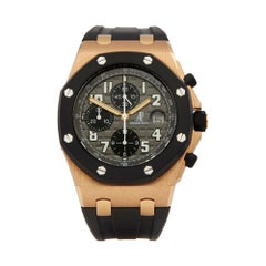 Audemars Piguet Royal Oak Offshore 18K Rose Gold & Rubber 25940OK/O/002CA/01