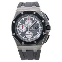 Audemars Piguet Royal Oak Offshore 26400.IO Mens Titanium Watch Box Only