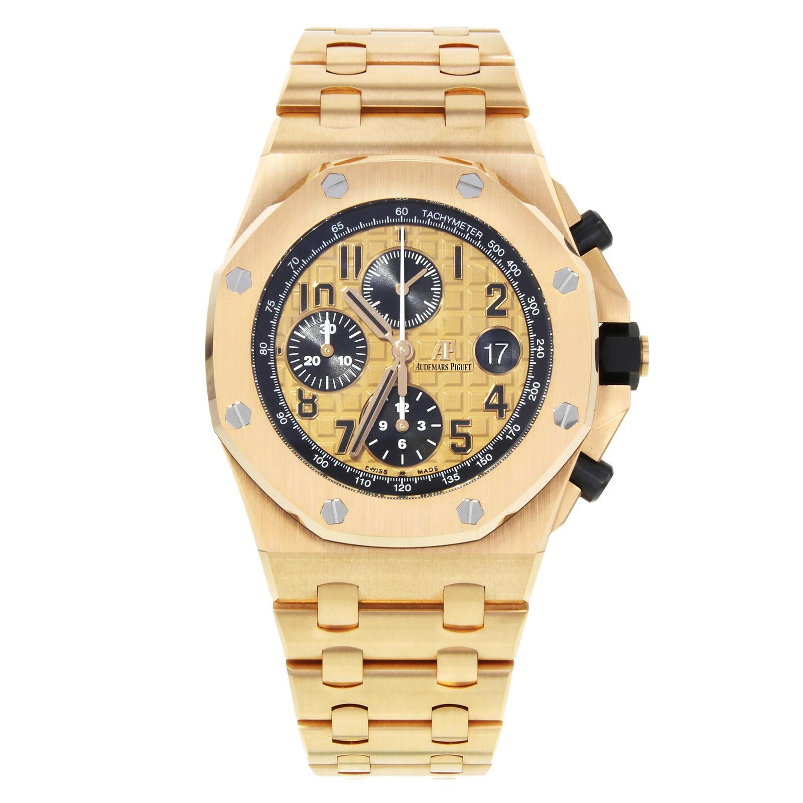 Audemars Piguet Royal Oak Offshore 26470OR.OO.1000OR.01 18 Karat Rose Gold Watch