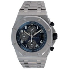 Audemars Piguet Royal Oak Offshore Chronograph Stainless Steel Blue Dial