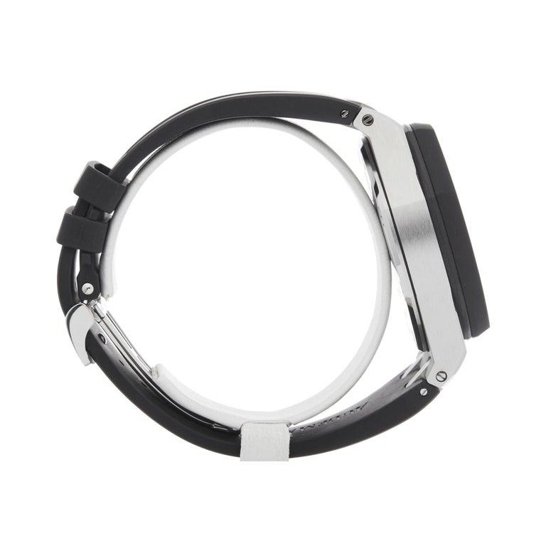 Men's Audemars Piguet Royal Oak Offshore Chronograph Stainless Steel & Rubber 25940SK For Sale