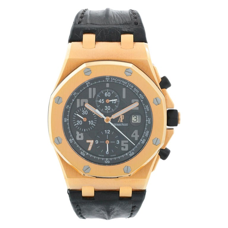 Audemars Piguet Royal Oak Offshore Ginza, 2008, offered by DeMesy Fine Watches & Jewelry