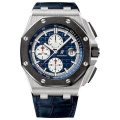 Audemars Piguet Royal Oak Offshore Platinum Men's Watch-26401PO.OO.A018CR.01