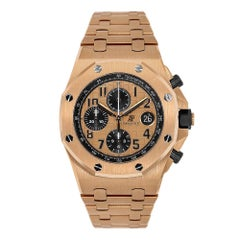 Audemars Piguet Royal Oak Offshore Rose Gold Watch 26470OR.OO.1000OR.01