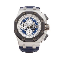 Audemars Piguet Royal Oak Offshore Rubens Barrichello II Platinum Wristwatch