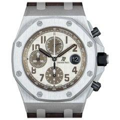 Audemars Piguet Royal Oak Offshore Safari Stainless Steel Ivory Dial