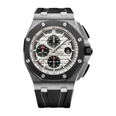 Audemars Piguet Royal Oak Offshore Stainless Steel and Ceramic Men's Watch