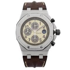 Audemars Piguet Royal Oak Offshore Steel Off-White Watch 26470ST.OO.A801CR.01