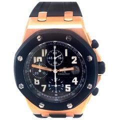 Audemars Piguet Royal Oak Offshore Sub-Dial Rubber Clad Rose Gold Watch