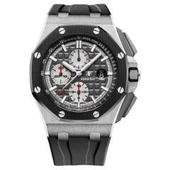 Audemars Piguet Royal Oak Offshore Titanium Men's Watch-26400IO.OO.A004CA.01
