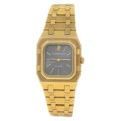 Audemars Piguet Royal Oak Rectangular 18 Karat Yellow Gold Quartz Ladies Watch