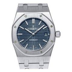 Audemars Piguet Royal Oak Selfwinding Blue Dial Watch 15450ST.OO.1256ST.03