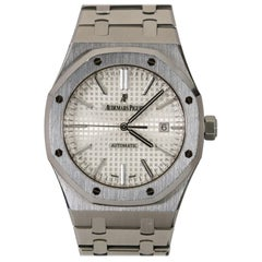 Audemars Piguet Royal Oak Selfwinding White Dial Stainless Steel