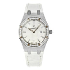 Audemars Piguet Royal Oak Silver Dial Steel Ladies Watch 67651ST.ZZ.D011CR.01