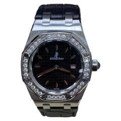 Audemars Piguet Royal Oak Stainless 67651ST.ZZ.1261ST.01 Original Diamond Bezel