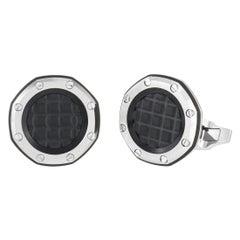 Audemars Piguet Royal Oak Stainless Steel Cufflinks