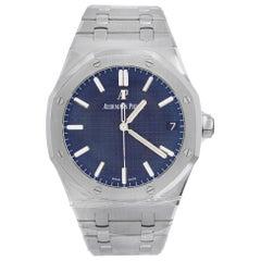Audemars Piguet Royal Oak Steel Blue Dial Automatic Watch 15500ST.OO.1220ST.01