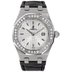 Audemars Piguet Royal Oak Steel Diamond White Watch 67651ST.ZZ.D002CR.01