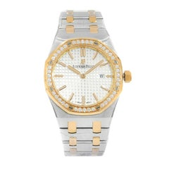 Audemars Piguet Royal Oak Steel Gold Ladies Quartz Watch 67651SR.ZZ.1261SR.01