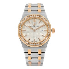 Audemars Piguet Royal Oak Steel Gold Quartz Ladies Watch 67651SR.ZZ.1261SR.01