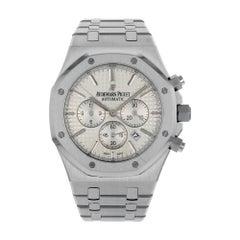 Audemars Piguet Royal Oak Steel Silver Dial Chrono Watch 26320ST.OO.1220ST.02