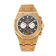 Audemars Piguet Royal Oak Tourbillon Chronograph Watch 25977OR.OO.D005CR.01