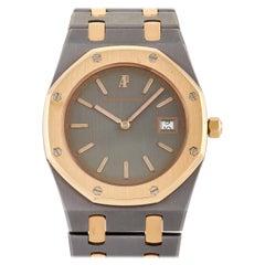 Audemars Piguet Royal Oak Two Tone Tantalum Rose Gold Watch 56175TR-OO-0789TR-01