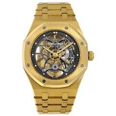 Audemars Piguet Royal Oak Yellow Gold Tourbillon Watch 26513BA.OO.1220BA.01
