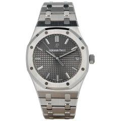 Audemars Piguet Royal Oak15500ST GreyDial SS Men's Watch with Box&Paper2020